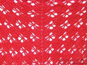 Butterfly-stitch Prayer Shawl designed by NJ Sharon Modified by Debi Adams