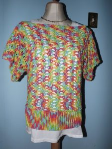 FINISHED!! Openwork Top by Yarnspirations